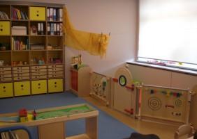 Schöne helle Räume zum Spielen